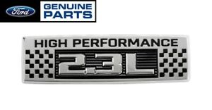 2020 Mustang Ecoboost Genuine Ford 2 3l High Performance 5 25 Fender Emblem Lh