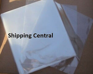 100 Pieces 6 x9 Heat Shrink Film Wrap Flat Bags Cd Gifts Pvc 6x9 100 Pieces