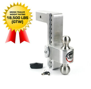 Weighsafe 180hitch Ltb10 2 5 10 Drop Hitch 2 5 Receiver 18 500 Lbs Made In Usa