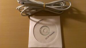 Programming Cable D2 dscbl With Software And Manuals For Automation Direct Dl06
