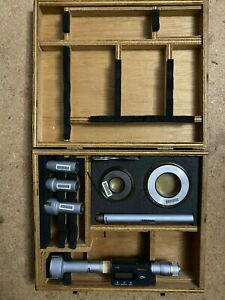 Mitutoyo 468 978 Digital Inside Micrometer 0 8 2 Set