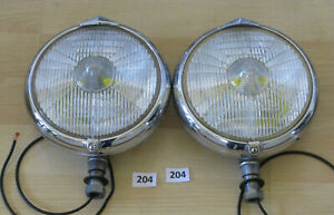 Marchal 660 760 Fog Driving Lights Pair Carello Hella Cibie