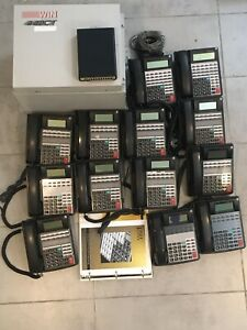 Win Mk 440ct Phone System W Lots Of 11 Telephones