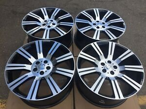 22 New Land Rover Range Rover Stormer Style Set Wheels Rims Discovery Lr3 Lr4