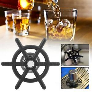 Beer Glass Rinser Washer Cleaner Head Stainless Steel For Cafe Bar Counter
