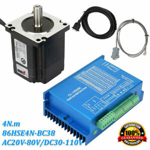 Closed Loop Stepper Motor 4n m Hybrid Servo Driver Kits 86hse4n bc38 Us