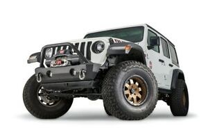 Warn 102520 Crawler Stubby Bumper W Grille Guard For Jeep Wrangler Gladiator
