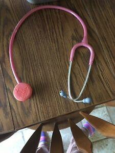 Littman Pediatric Stethoscope In Color Pink