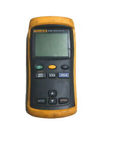 Fluke 51 ii Contact Single Input Digital Thermometer F51 2 Parts Or Repair