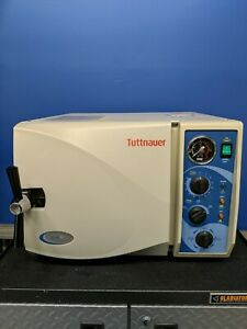 Tuttnauer 2540m Steam Medical Sterilizer Dental Autoclave Great Refurb Condition