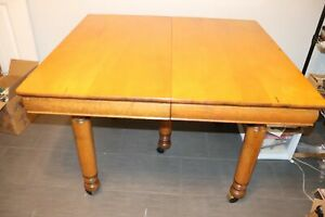 Robbins Table Co Harvest Extension Table 5 Legs 5 Leaves 9 X 42 Oswego Mi