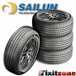 4 Sailun Atrezzo Sh406 195 65r15 91h All Season High Performance 45k Mi Tires