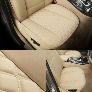 Extra Thick Soft Pu Leather Car Seat Cover Cushion Front Seat Bottom Protector Fits Honda Civic