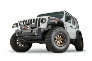 Warn 102510 Stubby Crawler Bumper W Out Grille Guard For Jeep Jl Jk Gladiator