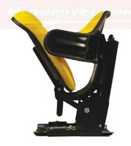 Wf222yl Yellow Wrap Around Back Flip Tractor Seat For John Deere 820 4630