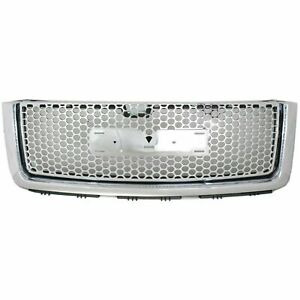 New Chrome Grille For 2007 2013 Gmc Sierra 1500 Denali Gm1200631 22761794