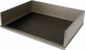 Victor S1154 Stacking Letter Tray silver