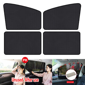Magnetic Car Window Sun Shade Uv Protection Front Rear Side Window Curtain Cover