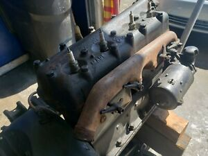 Model T 1924 Complete Engine And Transmission Working Condition original