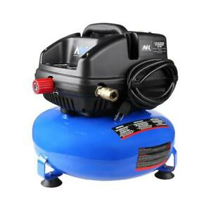 3 Gal Portable Electric 100 Psi Oil less Pancake Air Compressor