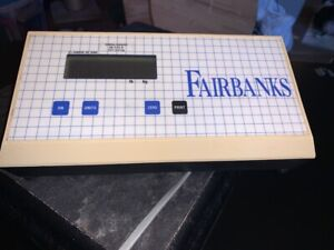 Fairbanks 600 Pound Capacity Floor Scale