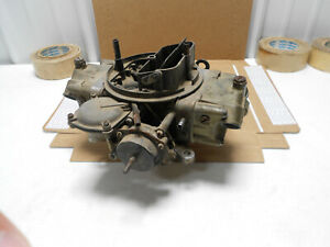 1970 Gm Factory 3878261 Holley Carburetor Dated 015 780 Cfm 4bbl Carb 396 375hp