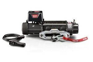 Warn 87310 9 5xp Series 12 Volt Electric Winch With 9500 Lb Capacity 100 Ft Rope