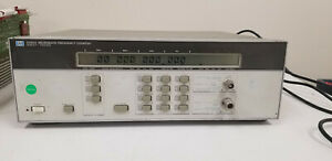 Hp 5350a Microwave Frequency Counter Opt 001 Tested Good