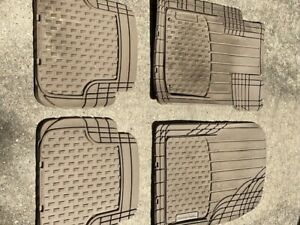 Weathertech All Weather Floor Mats For Ford Escape 2013 1st 2nd Row Tan
