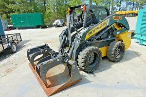 2017 New Holland Skid Steer L234 With Normal Grapple Bucket 2 Sets Of Tires