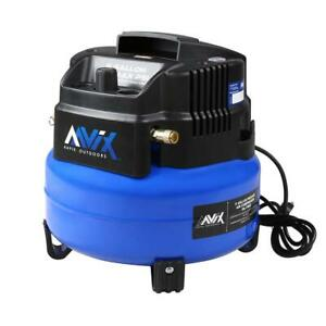6 Gal Portable Electric 150 Psi Oil free Pancake Air Compressor
