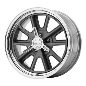 American Racing 427 Shelby Cobra 17x8 5x114 30 Two Piece Mag Gray Center