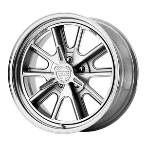 American Racing 427 Shelby Cobra 17x8 5x114 30 Two Piece Polished 0 Mm Wheel
