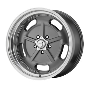 American Racing Salt Flat 20x9 5 5x120 65 Mag Gray W Diamond Cut Lip 0 Mm