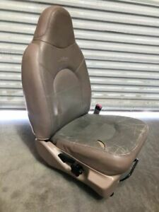 99 04 Ford F350 Super Duty Used Rh Right Passenger Manual Lariat Leather Seat