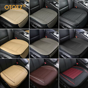 Auto Car Pu Leather Front Seat Cover Half Full Surround Chair Cushion Mat Pad