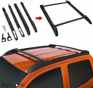 Roof Rack For 2005 2019 Toyota Tacoma Double Cab Cross Bars Side Rails Set Us