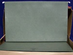 Snead 64320 Legal Green Expandable Hanging File Folders See Details