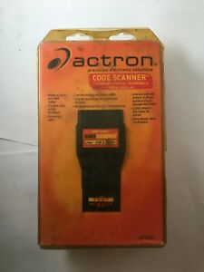 Actron Cp9001 Diagnostic Code Reader Scanner For 82 93 Gm Chevrolet Pontiac Olds