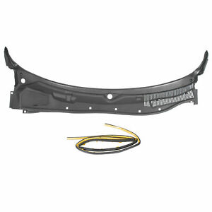 New Windshield Wiper Cowl Grille Panel For 2008 2019 Dodge Challenger