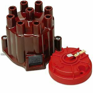 Msd Ignition 8442 Distributor Cap Rotor Kit Brass Terminals Points Style Cap