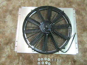 Mishimoto Mmfs mus 67 Aluminum Electric Fan Shroud Fits 67 69 Ford Mustang