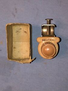 Vintage Ark les Below Dash Lighted Heater Switch Rat Rod Model A T Ford Chevy