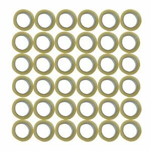 6 12 18 24 36 72 Rolls Clear Packing Packaging Carton Sealing Tape 2x110 Yards