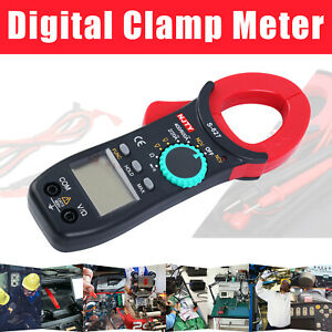 Ac dc Volt Amp Digital Clamp Meter Tester Multimeter Auto Ranging Current Tool