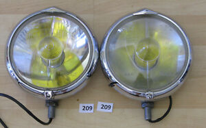 Marchal 662 762 Fog Driving Lights Pair Cibie Carello Hella