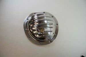Rpc R5077 Polished Aluminum Differential Cover Gm 10 Bolt Front