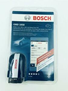 New Bosch Obd 1050 Mobile Scan Obd Ii Abs Airbag Scan Tool Bluetooth