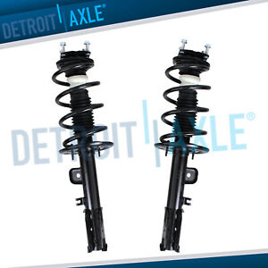 Pair 2 Complete Front Struts coil Spring Assembly For 2011 2012 Ford Explorer