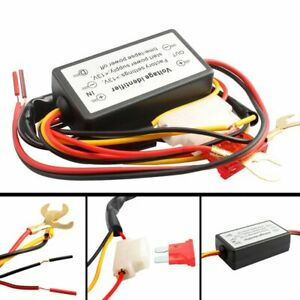 Drl Controller Auto Car Led Daytime Running Lights Relay Harness Dimmer On Off